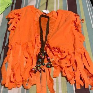 Skirts - Women's Hippie Chick Costume. EUC!